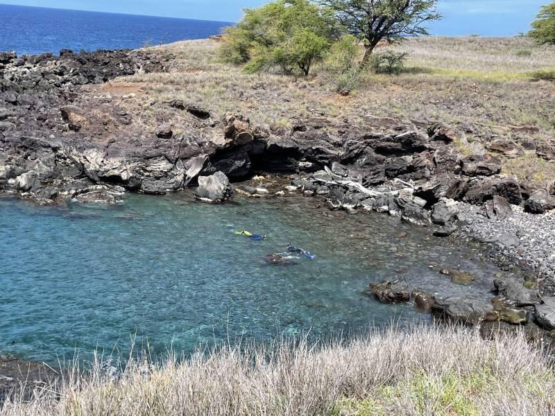 Kohala Kai oceanfront cove