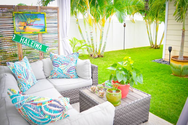 backyard lanai