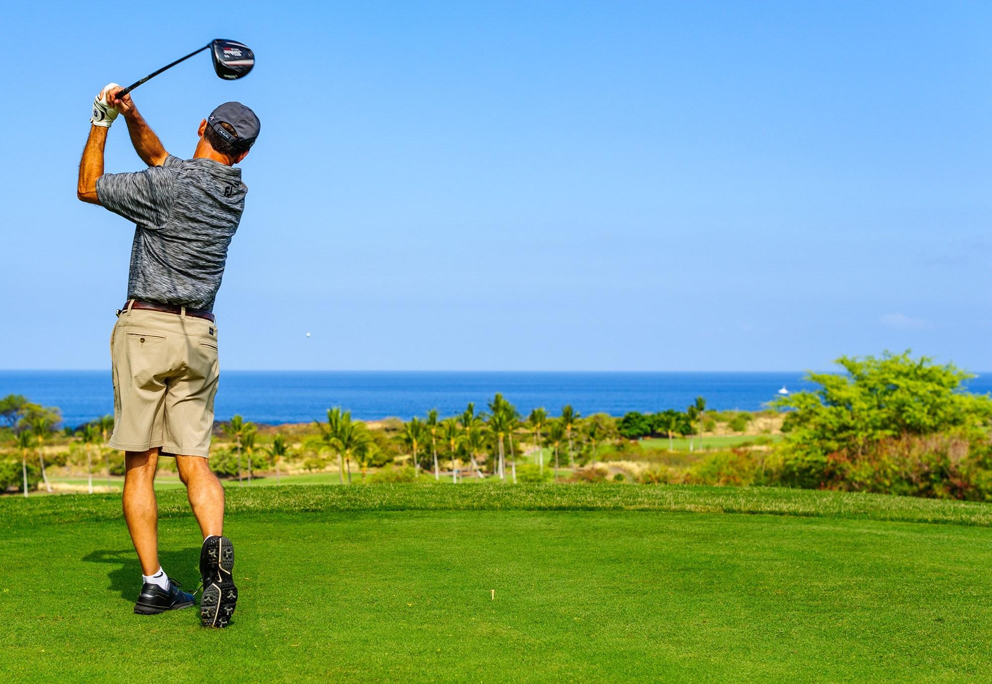 golf course at hokulia