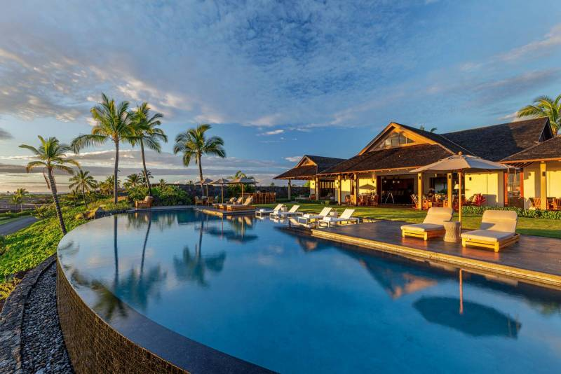 luxury estate on the big island