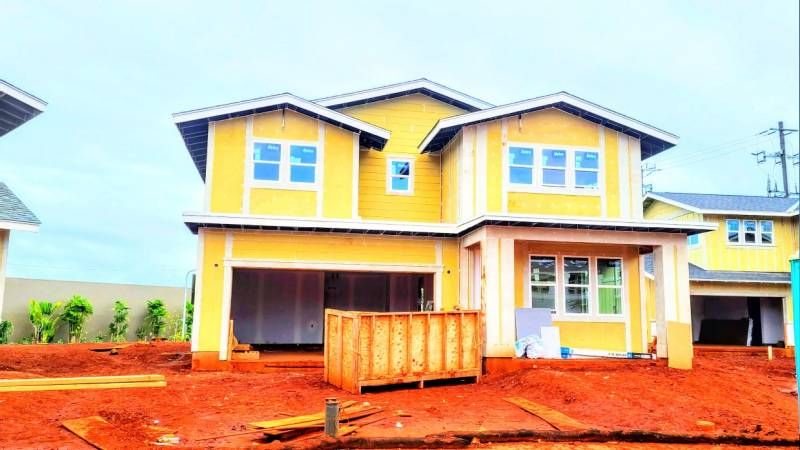new construction homes in nanea on oahu