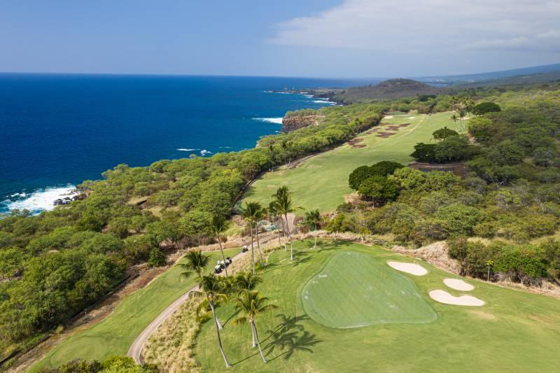 big island luxury oceanfront golf course
