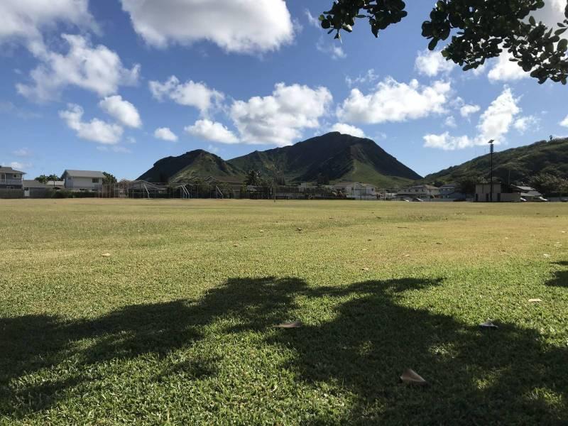 park in kalama valley oahu