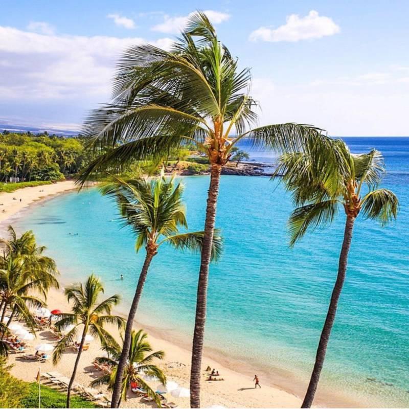 beach at mauna kea resort