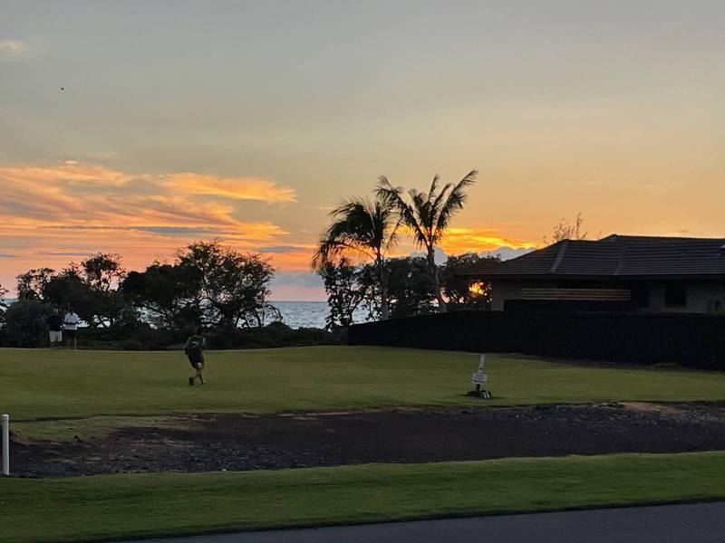 Sunset at Kolea at Waikoloa Beach Resort
