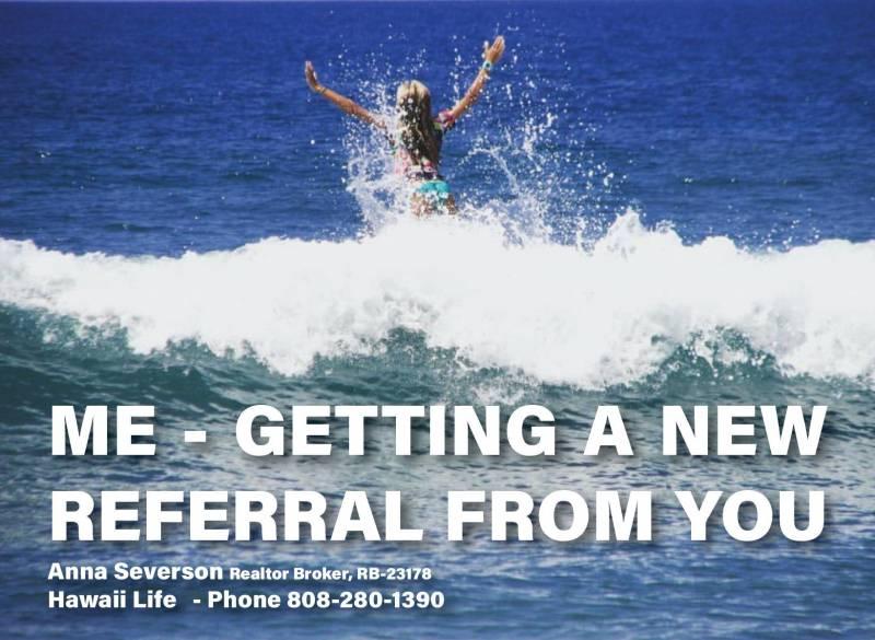 real estate referral