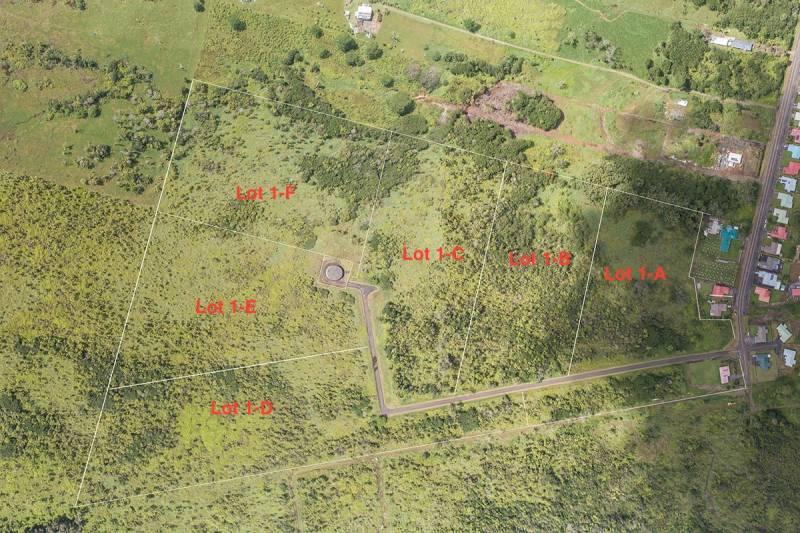 Wilder Ridge subdivision map