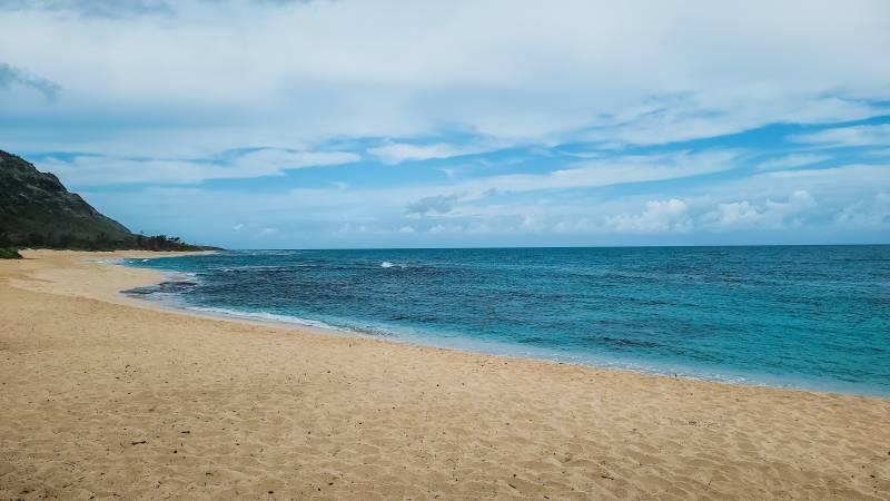 beach in Waialua