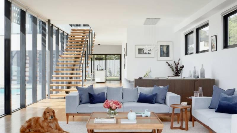 interior modern home on oahu