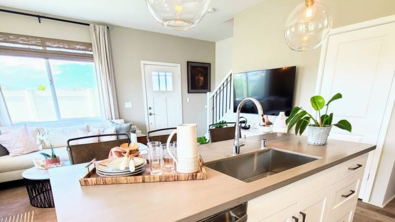 kitchen in northpark homes oahu