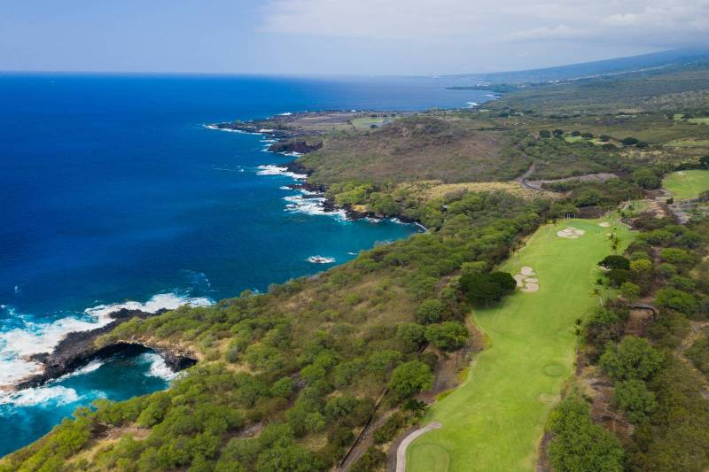 hokulia golf course big island