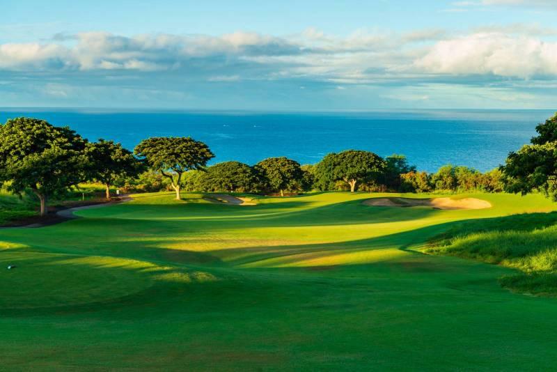 hokulia golf course