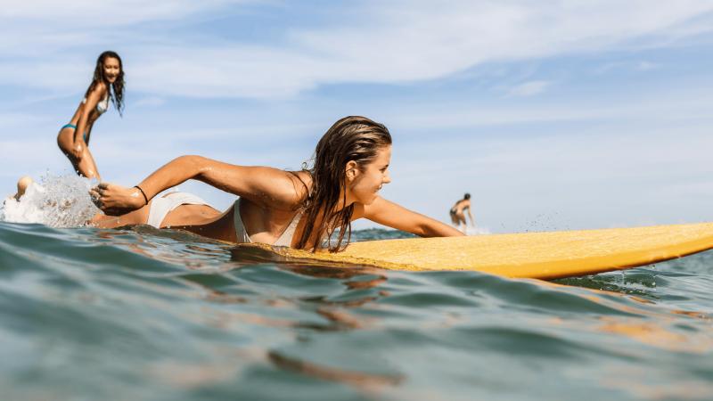 surfing big island beaches