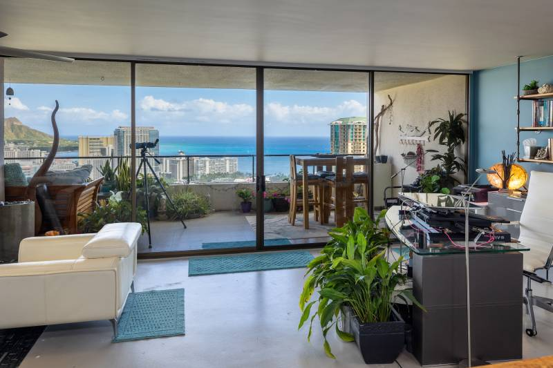 wide ocean views from oahu condo for sale