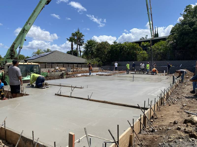 new construction on maui