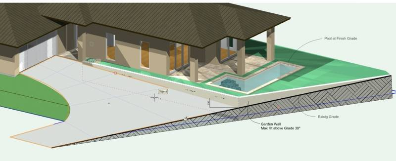 rendering of a new home on maui