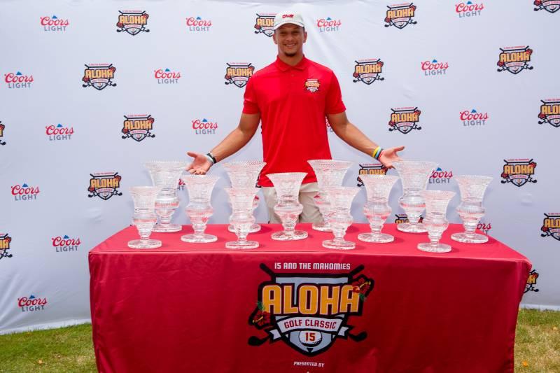 aloha golf classic with patrick mahomes