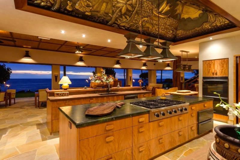 luxurious chefs kitchen