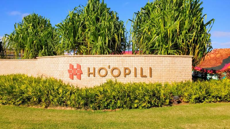 entrance to hoopili on oahu