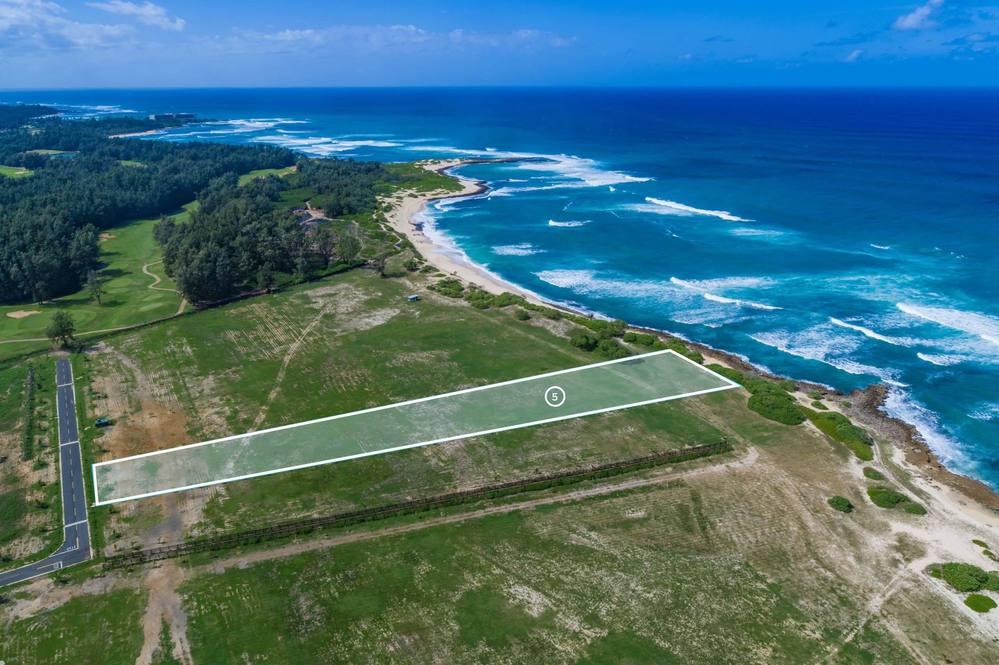 56-1089 Kamehameha Highway #5, Oceanfront Land for Sale on Oahu, Hawaii.