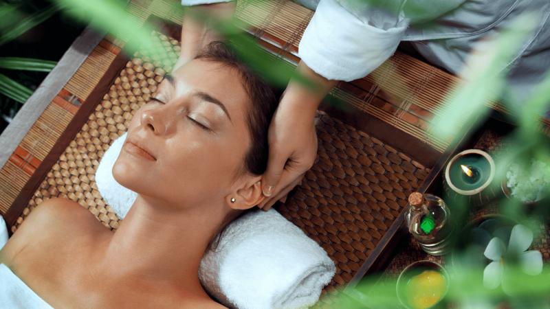 get a massage at the spa at hokulia