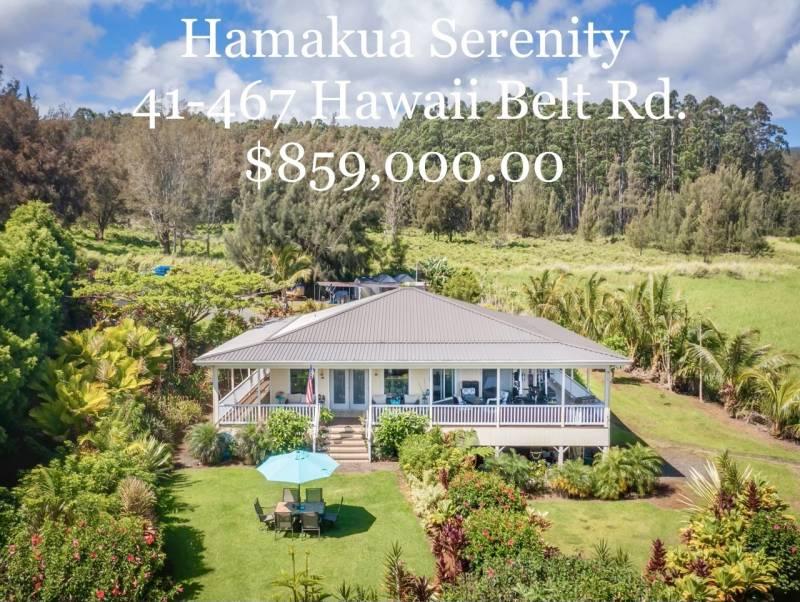 hamakua serenity for sale