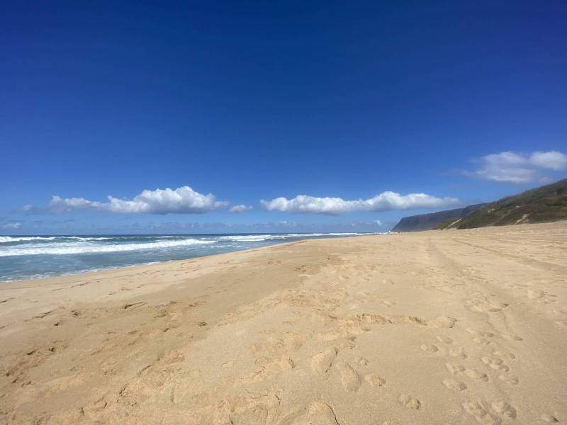 Polihale state park on kauai