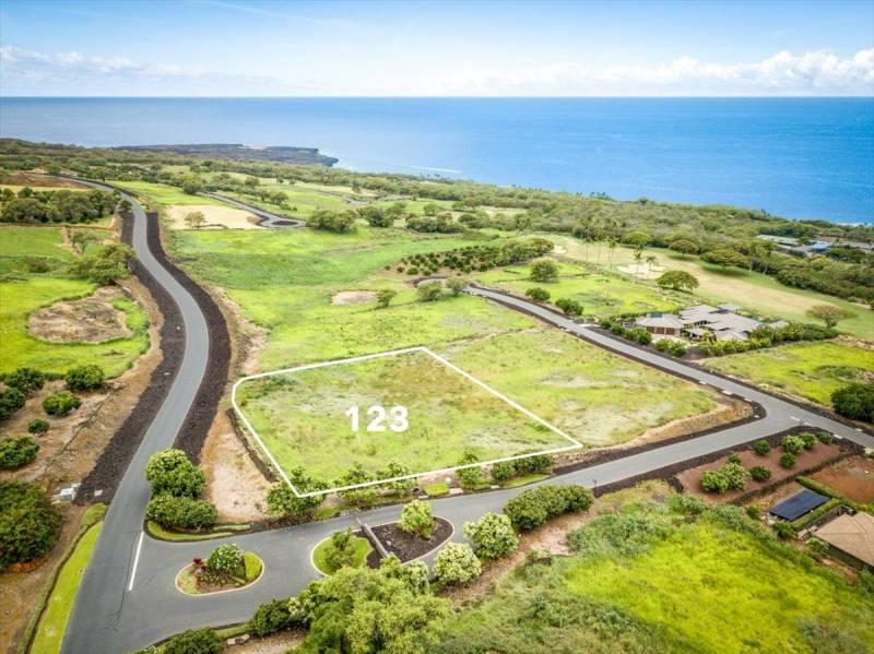 lot 123 sold in hokulia big island