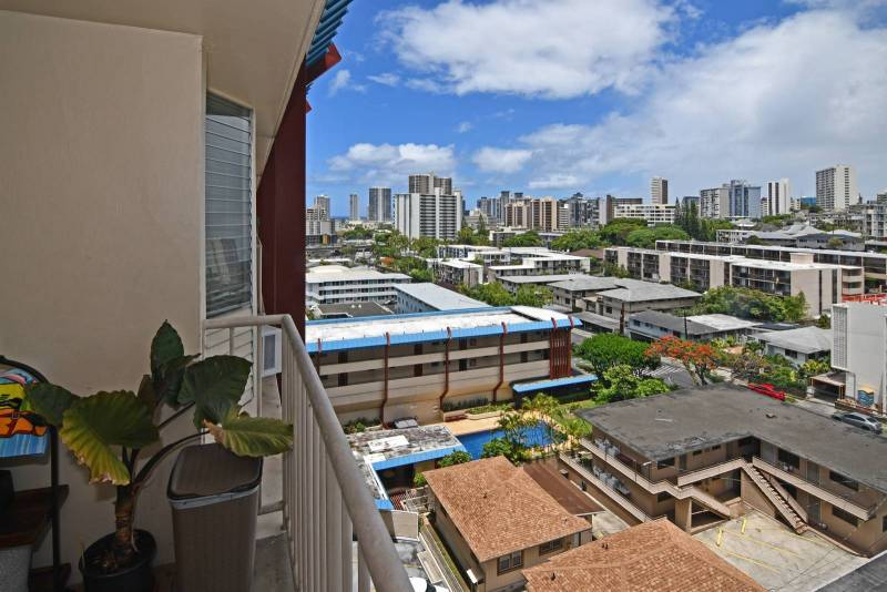 view from Village Maluhia condos for sale in honolulu