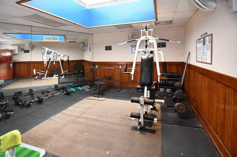 gym at Village Maluhia condos honolulu