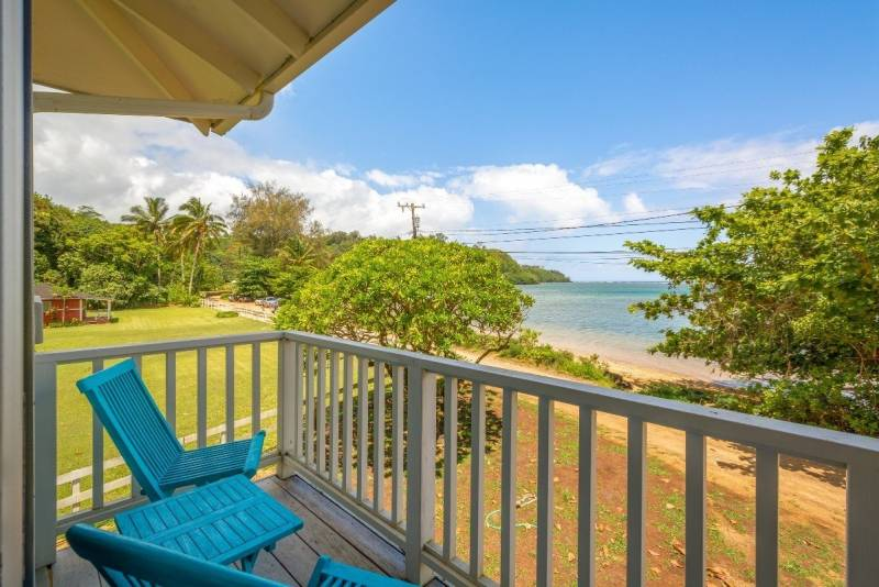 ocean views from your lanai