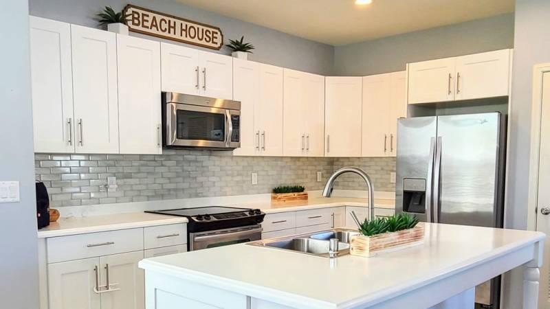kitchen in new build homes on oahu
