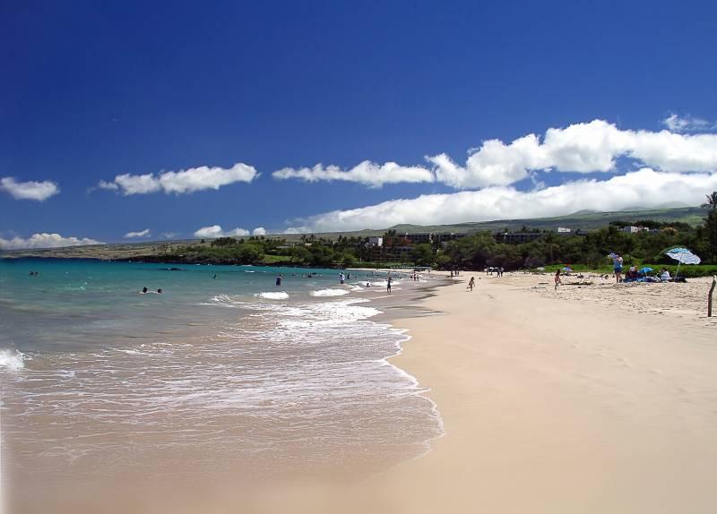 best big island beach kona - magic sand beach