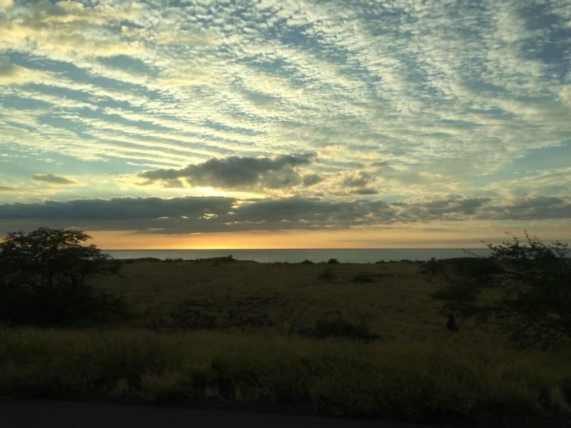 beautiful clouds in hawaii