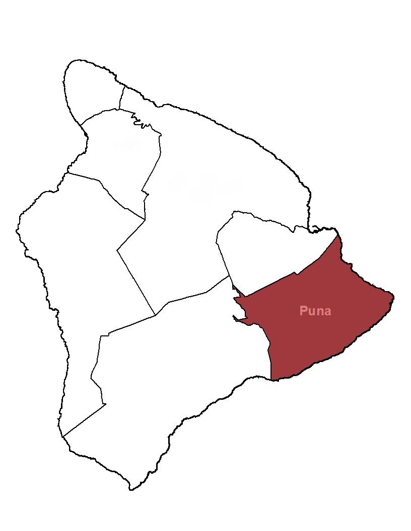 puna district big island