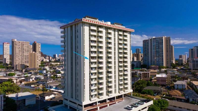 scenic towers building in honolulu oahu