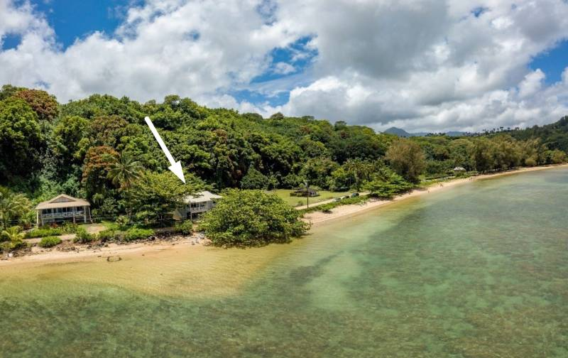 beach front kauai home for sale