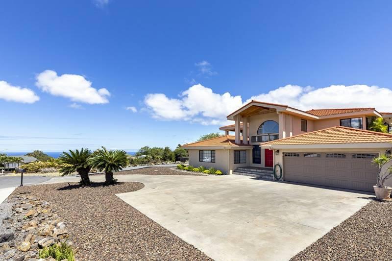 exterior big island home with ocean views