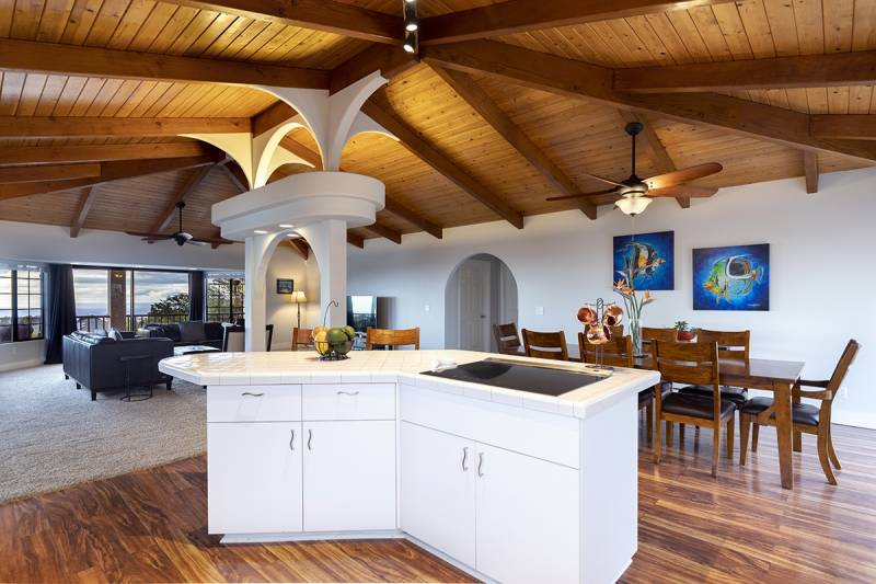 big island real estate interior living and dining
