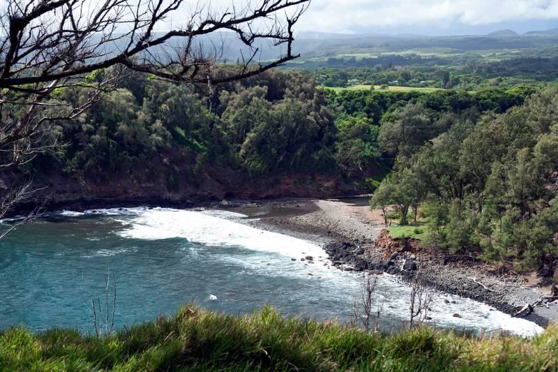 Beach at Kapanaia Bay