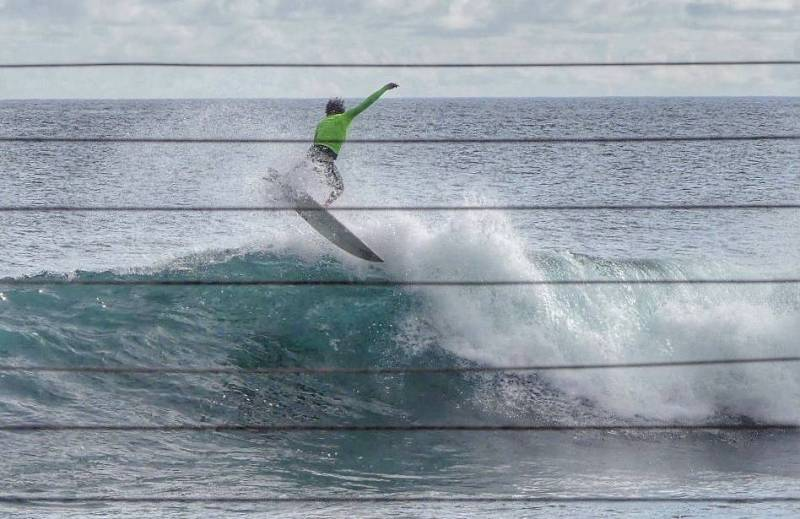 surfing in west maui