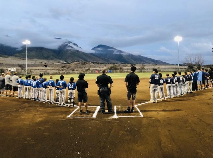 little league baseball on maui