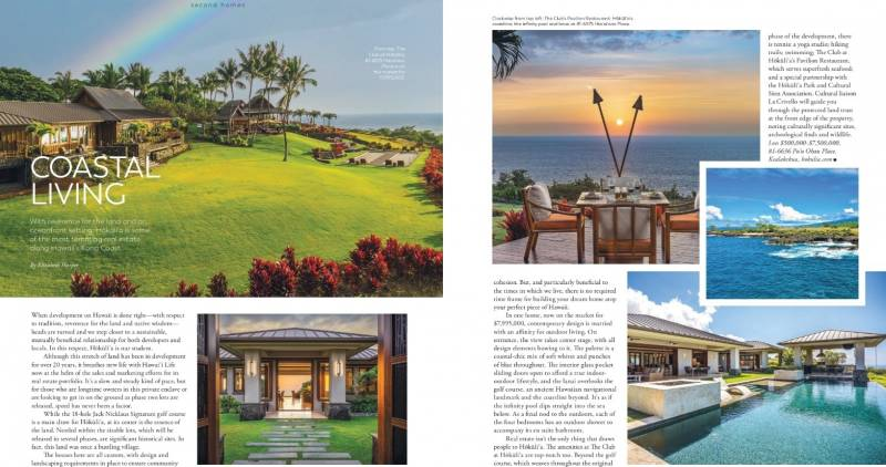 modern luxury interiors features hokulia in the august issue