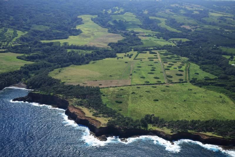 Kulaiwi o Kamehameha aerial photo