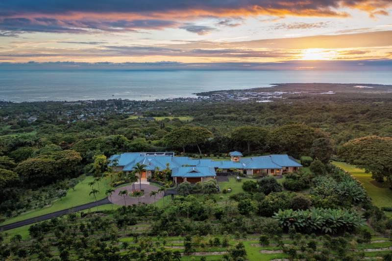 holualoa hawaii island estate for sale