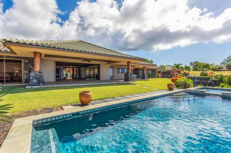 hokulia hawaii island home for sale