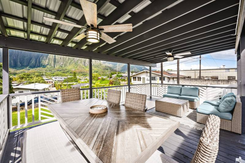 lanai at oahu home for sale