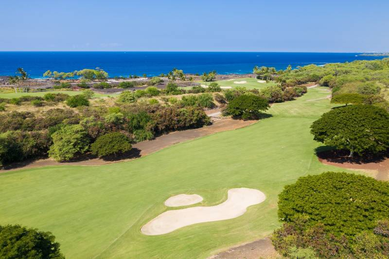 hokuia golf course big island