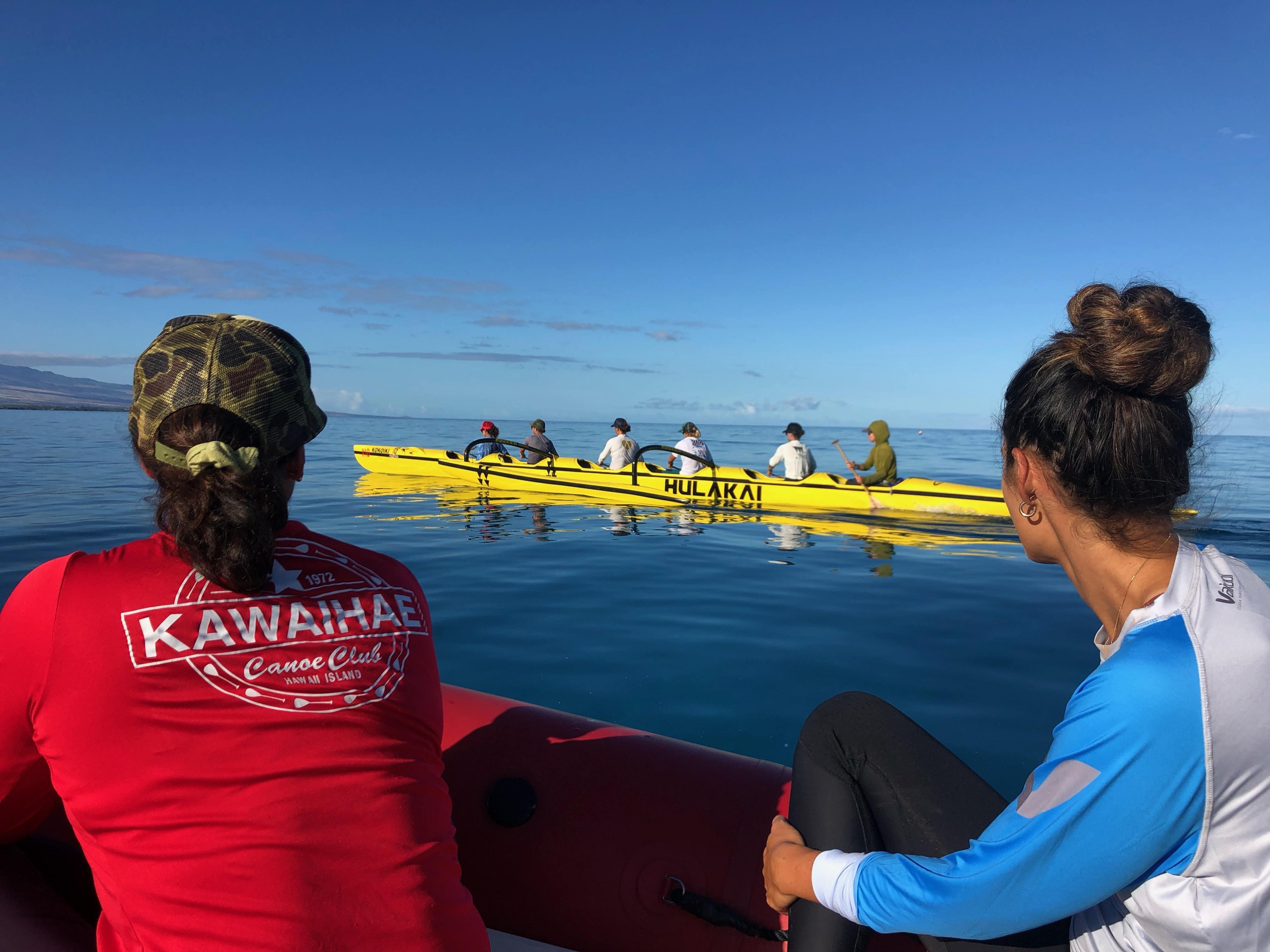 Noelani Spencer Photo_Big Island4_Outrigger Canoe Paddling