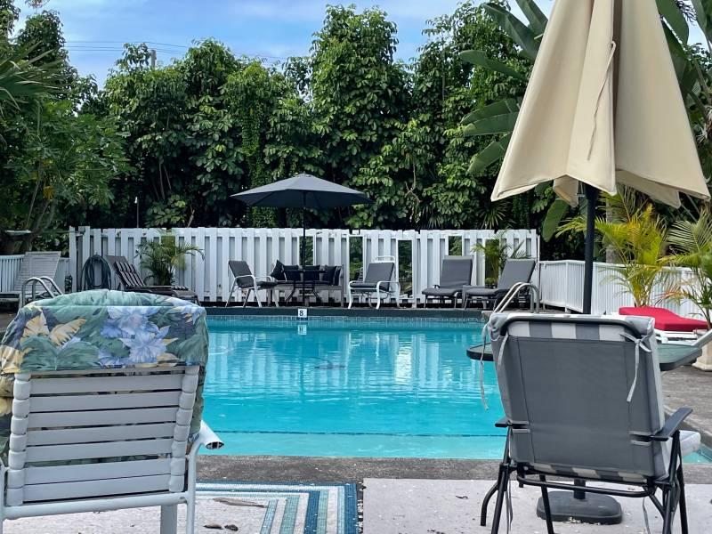 Hawi Plantation House swimming pool